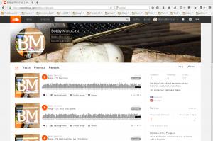 Bobby Mikrocast auf soundcloud